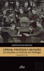 Ciência, Prestígio e Devoção: Os Jesuítas e a Ciência em Portugal (séculos XIX e XX), Capa