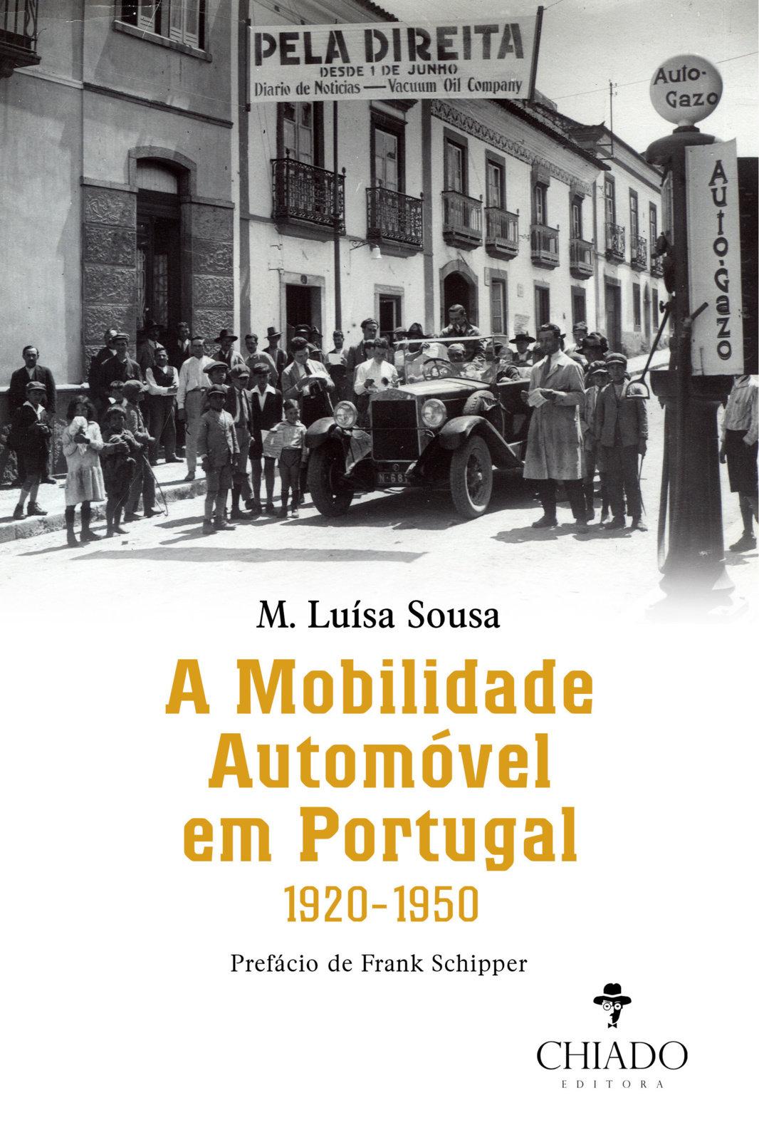 A Mobilidade Automóvel em Portugal, 1920-1950, Capa
