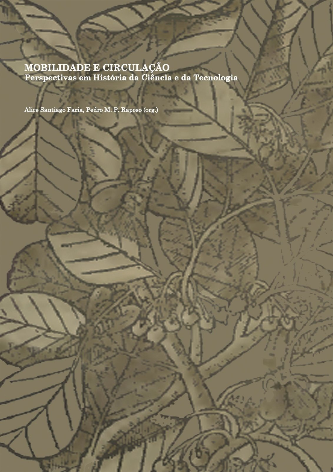 Mobilidade e circulação: perspectivas em História da Ciência e da Tecnologia, Capa