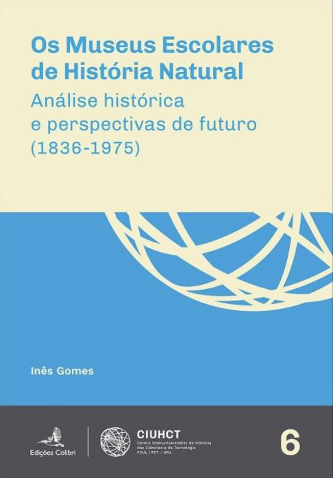 Os Museus Escolares de História Natural: Análise histórica e perspectivas de futuro (1836-1975), Capa