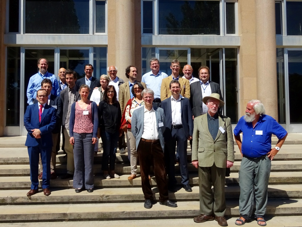 Group photo of the participants of the international workshop
