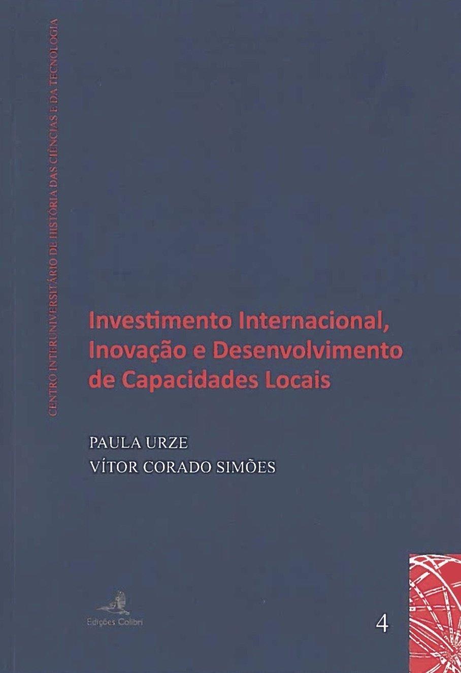 Investimento Internacional, Inovação e Desenvolvimento de Capacidades Locais, Capa