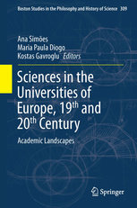 Sciences in the Universities of Europe, Nineteenth and Twentieth Centuries — Academic Landscapes, Capa