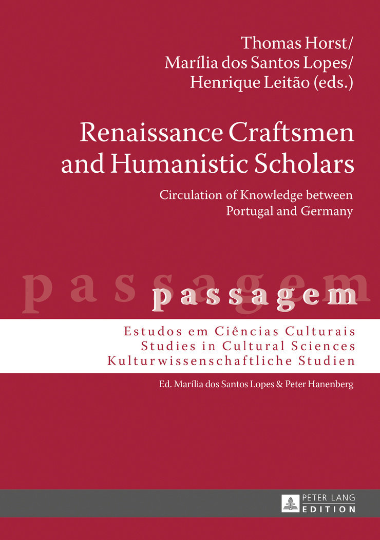 Renaissance Craftsmen and Humanistic Scholars — Circulation of Knowledge between Portugal and Germany, Capa