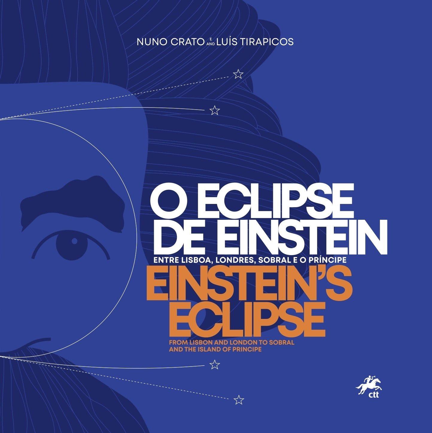 O Eclipse de Einstein – Entre Lisboa, Londres, Sobral e o Príncipe, Capa