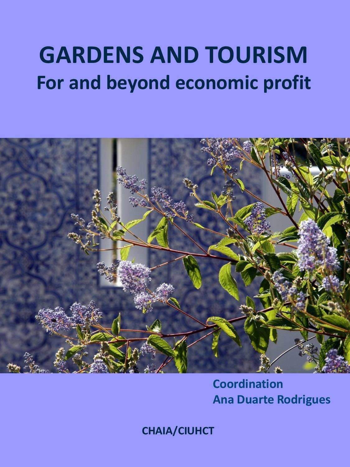 Gardens and Tourism for and Beyond Economic Profit, Capa