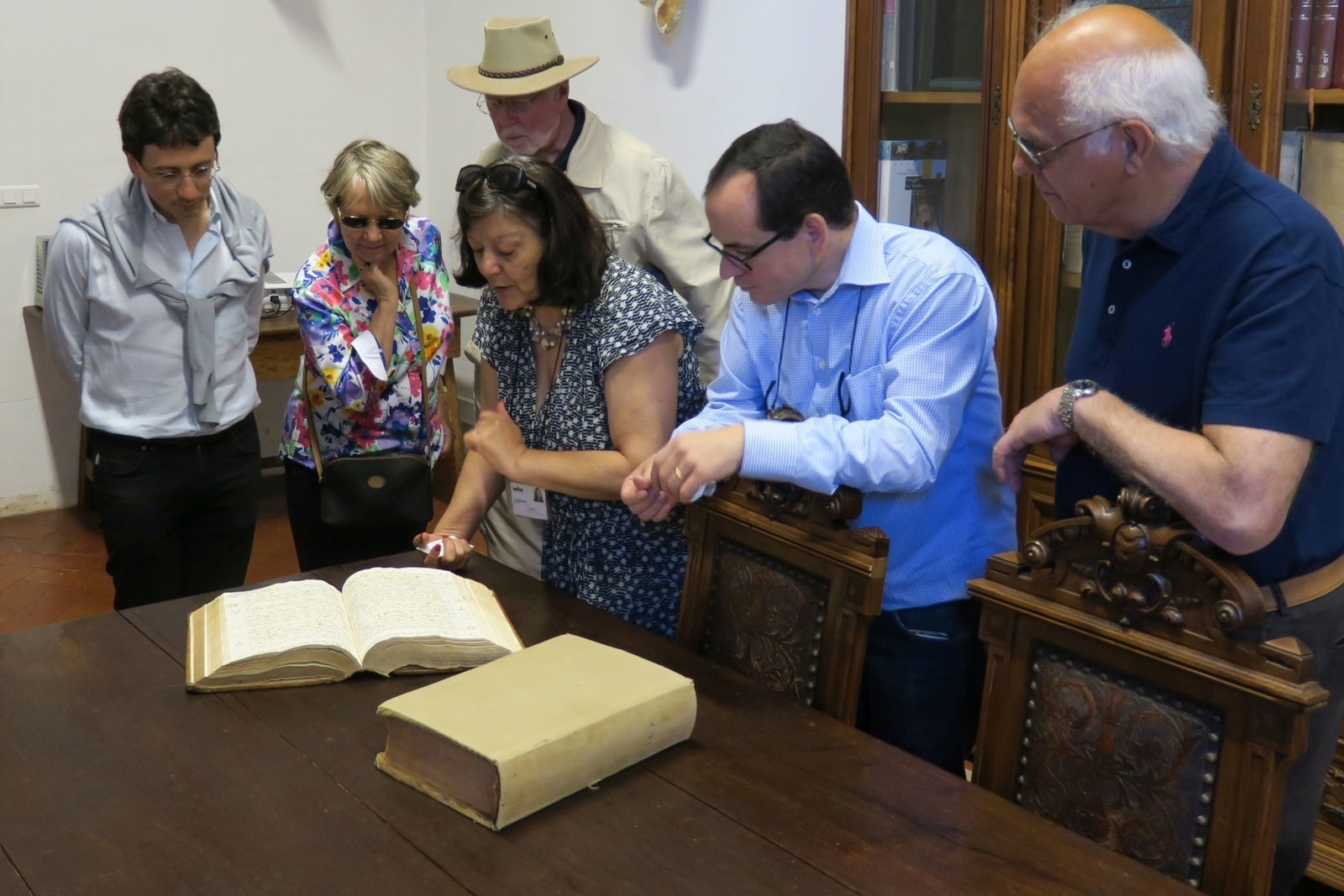 ...as well as a visit to Mafra, where we could see the inventories of the library, which were kindly explained by Dr. Maria Teresa Amaral