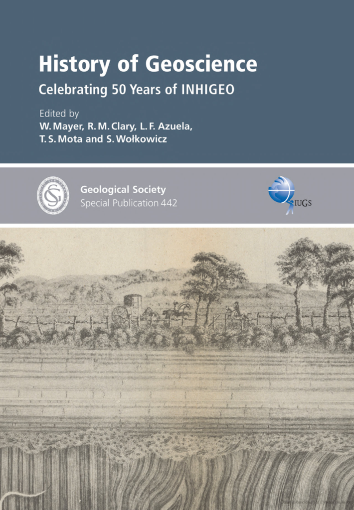 History of Geoscience — Celebrating 50 Years of INHIGEO, Capa