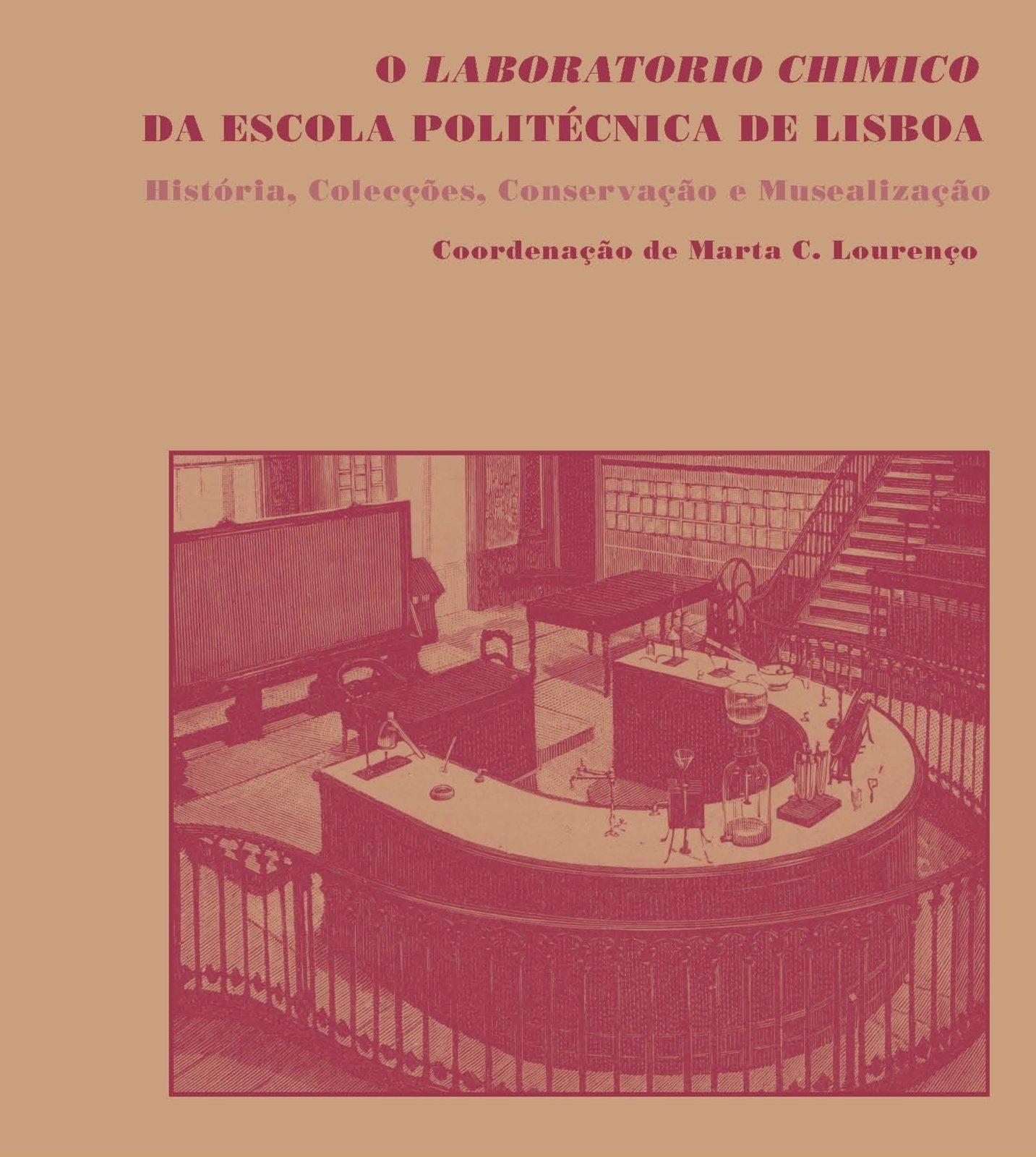O Laboratorio Chimico da Escola Politécnica de Lisboa — História, Colecções, Conservação e Musealização, Capa