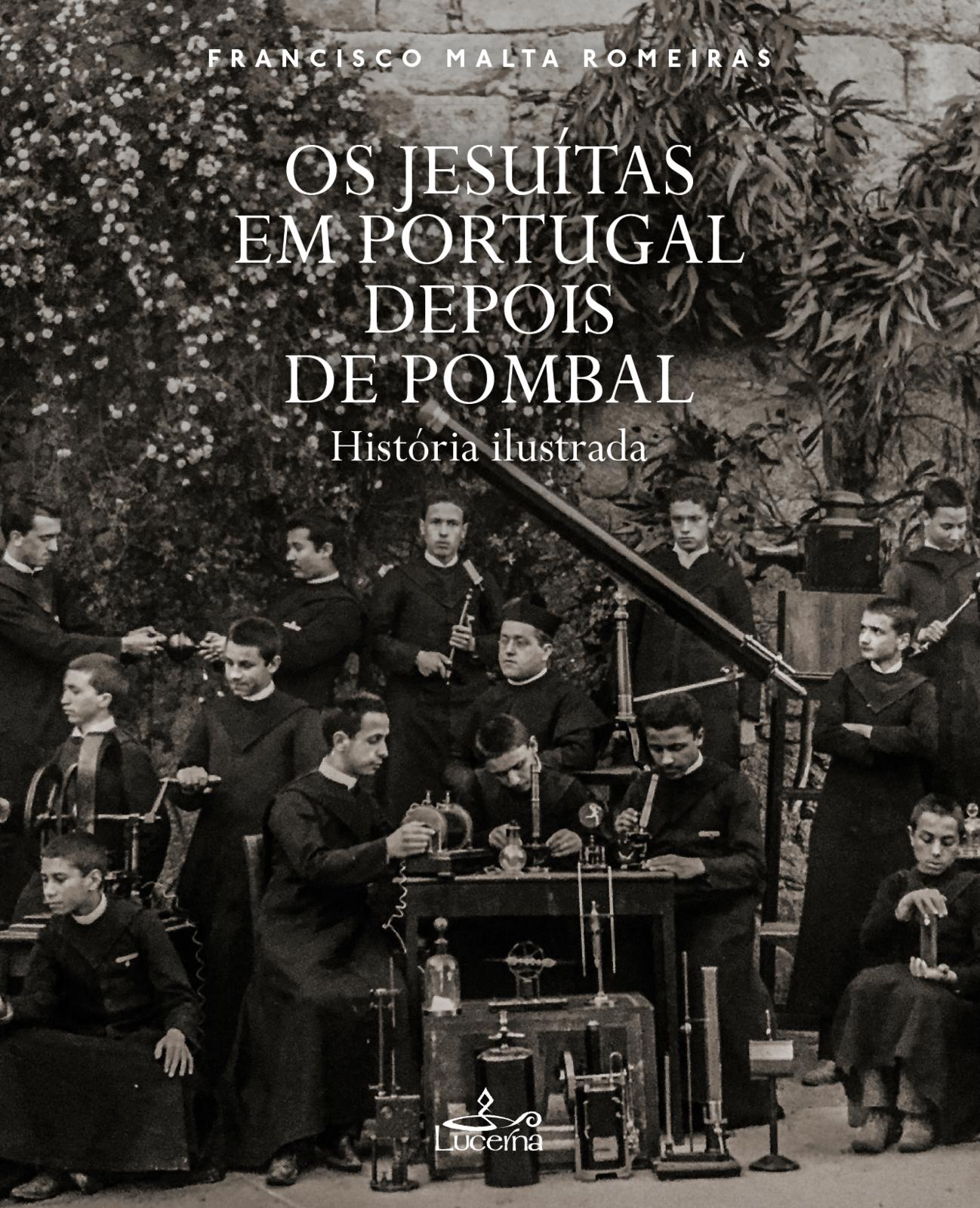 Os jesuítas em Portugal depois de Pombal. História ilustrada, Capa