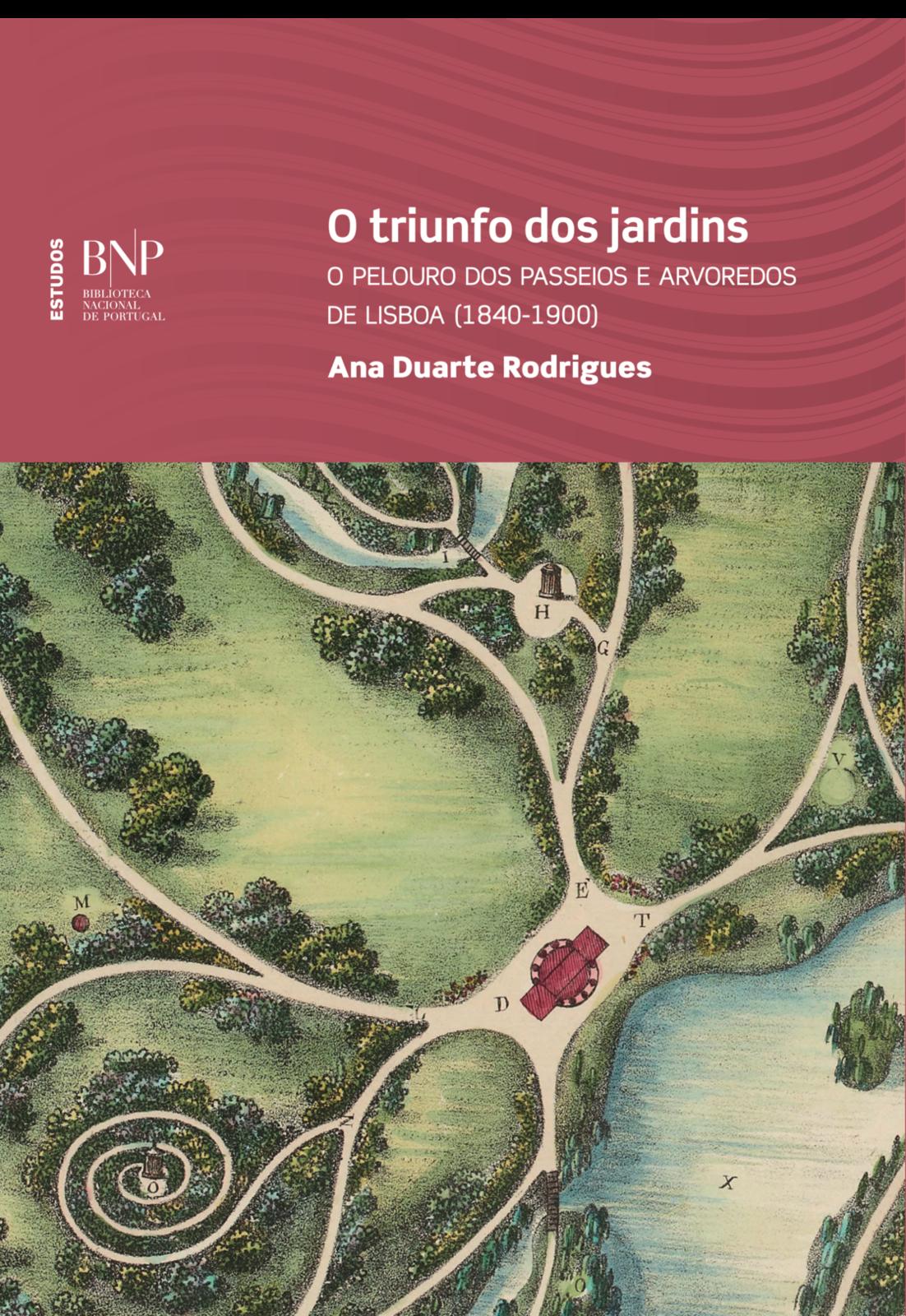 O Triunfo dos Jardins – O pelouro dos Passeios e Arvoredos de Lisboa (1840-1900), Capa