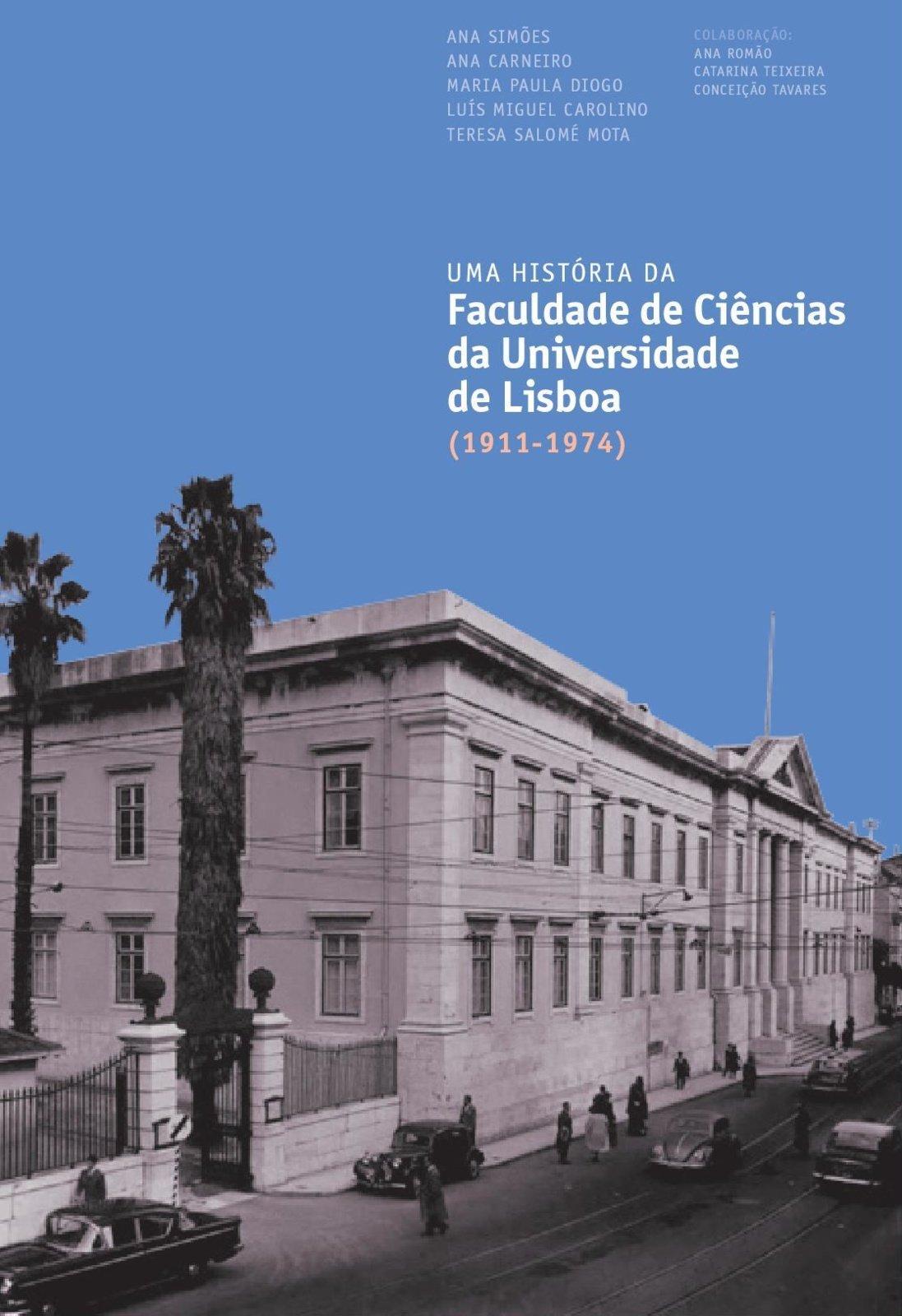 Uma História da FCUL (1911-1974), Capa